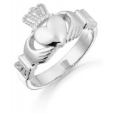 9ct Gold Claddagh Ring-135AW