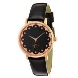 Kate Spade New York Metro Black & Rose Gold Watch 1YRU0583