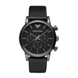 Armani Leather Gents Watch AR1737
