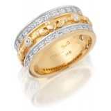 9ct Gold Claddagh Wedding Band - CL17