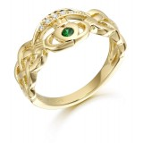 9ct Gold Claddagh Ring - CL35