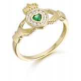 9ct Gold Claddagh Ring - CL38
