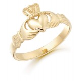 9ct Gold Claddagh Ring - CL5