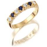 9ct Gold Eternity Ring - MC59S