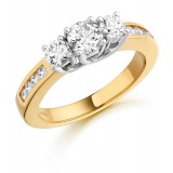 Diamond Engagement Ring-MC306