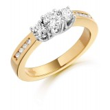 Diamond Engagement Ring-MC308