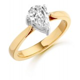 Pear Diamond Engagement Ring-MC364