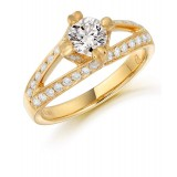 Diamond Engagement Ring-MC432