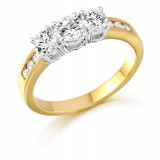 Diamond Engagement Ring-MC465