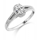 Diamond Engagement Ring-MC490W