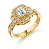 Diamond Engagement Ring-MC519