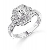Diamond Engagement Ring-MC519W