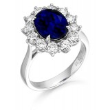 Diamond Engagement Ring-MC549W