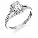 Diamond Engagement Ring-MC551W