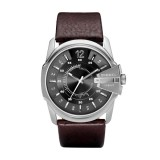 Diesel Gents Chief Series Brown Leather Watch DZ1206