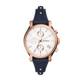 Fossil Ladies OBF Leather Watch ES3838