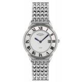 Rotary Ultra Slim Gents White Case Watch GB08000/21