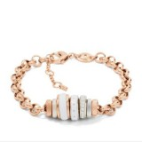 Ladies Fossil PVD Rose Classic Bracelet JF01121998