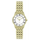 Rotary Ultra Slim Ladies Gold-plated Case Watch LB08002/01