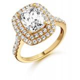 9ct Gold Solisto CZ Ring-MC20