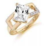 9ct Gold Ravine CZ Ring-MC287