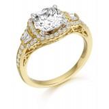 9ct Gold Boutique CZ Ring-MC307