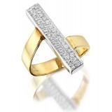 9ct Gold Egypsoo CZ Dress Ring-MC31