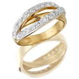 9ct Gold Embrace CZ Dress Ring-MC50