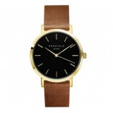 ROSEFIELD THE GRAMERCY BROWN WATCH