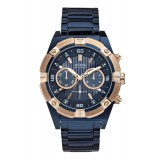 Gents Guess Blue Watch W0377G4