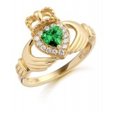 9ct Gold Claddagh Ring - CL28G