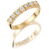 9ct Gold Eternity Ring - MC59