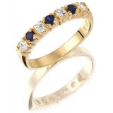 9ct Gold Eternity Ring - MC59S