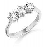 Diamond Engagement Ring-MC299W
