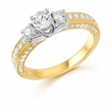 Diamond Engagement Ring-MC476