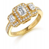 Diamond Engagement Ring-MC518