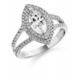 Diamond Engagement Ring-MC526W