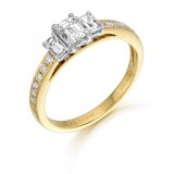 Diamond Engagement Ring-MC543