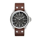 Diesel Gents Rollcage Brown Leather Watch DZ1716
