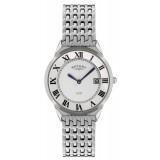 Rotary Ultra Slim Gents White Case Watch GB08000/21