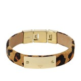 Ladies Fossil ID Plaque Bracelet JF01388710