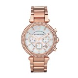 Michael Kors Rose Parker Watch MK5491