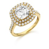 9ct Gold Solisto CZ Ring-MC138