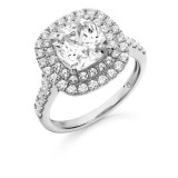 9ct Gold Solisto CZ Ring-MC138W