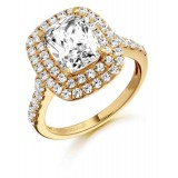 9ct Gold Solisto CZ Ring-MC20
