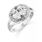 9ct Gold Elite CZ Ring-MC293W