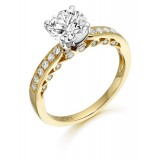 9ct Gold L'mour CZ Ring-MC306