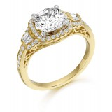 9ct Gold Boutique CZ Ring-MC307
