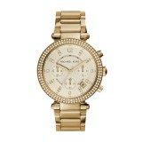 Michael Kors MK5354 Parker Glitz Watch, Golden