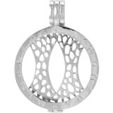 Mi Moneda Silver Pendant